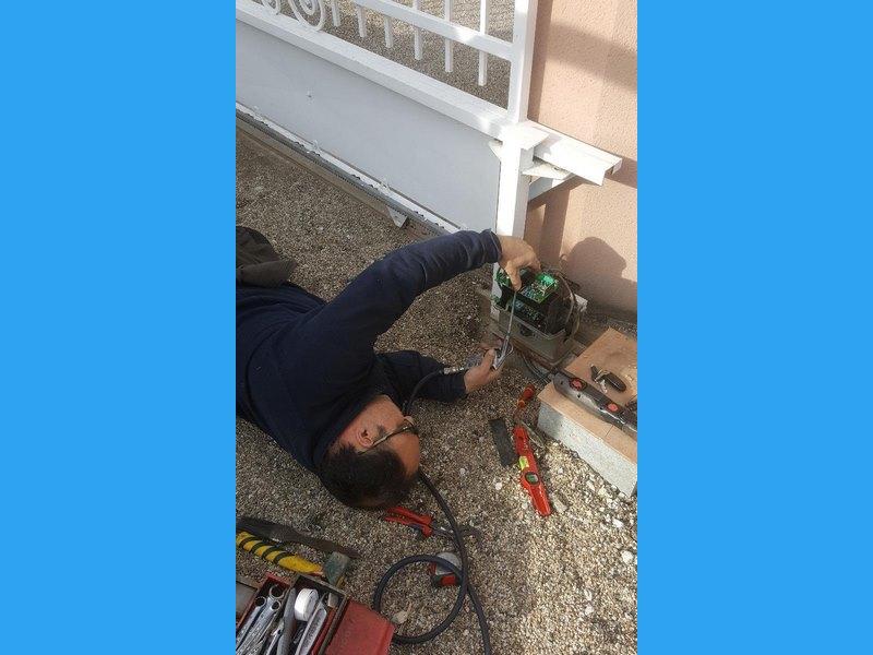 Maintenance de portails éléctriques