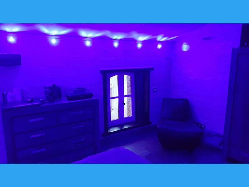 installation éclairage d'ambiance