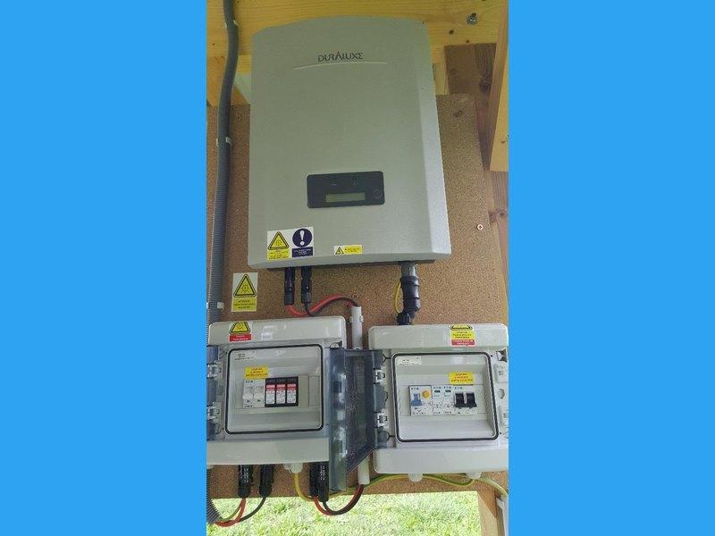 tableau éléctrique photovoltaïque